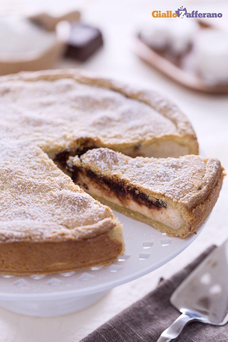 La CROSTATA DI RICOTTA (ricotta pie) è un dolce classico perfetto per ogni momento della giornata. #ricetta #GialloZafferano #italianfood #italianrecipe