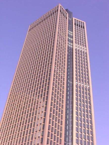 Frankfurt tower 185 protégée par le PSS20.