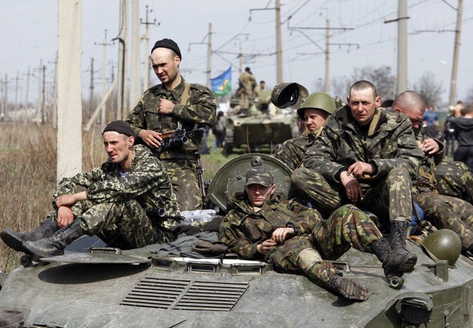 "Over 400 Ukrainian Servicemen ""Refuse to Fight Against their own People"", Seek Refugee Status in Russia  By Anna Mihailenko Global Research, August 04, 2014"
