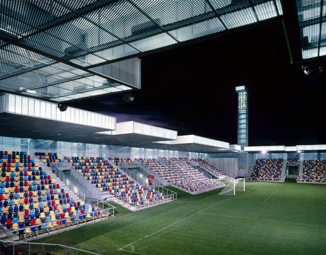 Eduardo Arroyo/No.Mad - Lasesarre football stadium, Barakaldo 2003