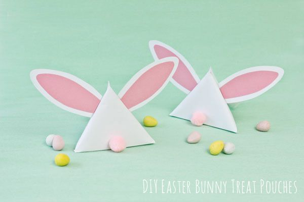 Darling DIY Easter Bunny Treat Pouches from the Sweetest Occasion