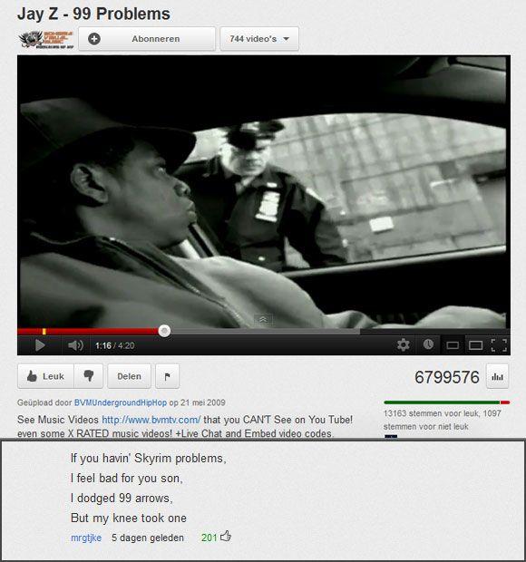 Jay Z – 99 Problems http://www.shenhuifu.org/2017/06/30/jay-z-99-problems/ #JayZ #Music #Songs #99Problems #Memes #Skyrim #SkyrimMeme