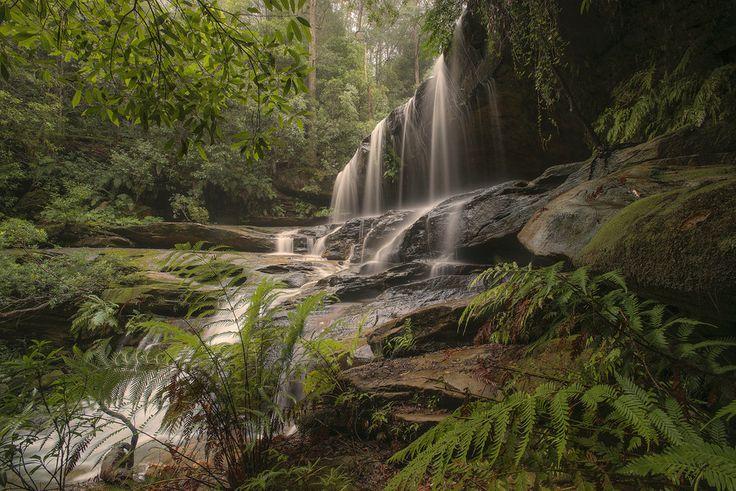 Photo Somersby Falls. by Warren Patten on 500px