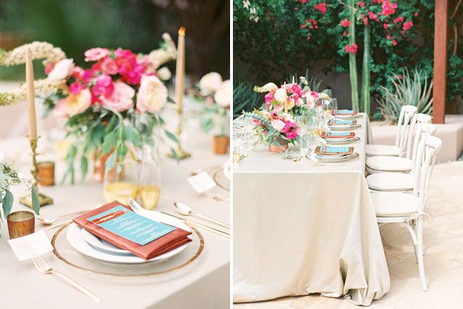 Four Seasons Resort Scottsdale Wedding. Chic Southwestern Table Inspiration