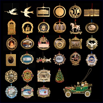 Complete Set of White House Christmas Ornaments - 394 Best Esoteric Collections Images On Pinterest Antique Shops