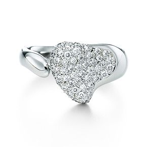 Tiffany & Co Elsa Peretti Full Heart Ring