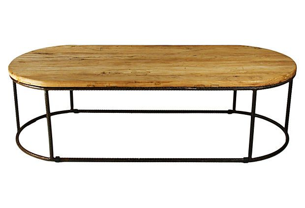 Rustique Coffee Table on OneKingsLane.com: Rustique Coffee, Coffee Tables, One King Lane, Memorial Tables, Rustiqu Coff, Living Rooms Tables, Products, Round Coff, Houses Design