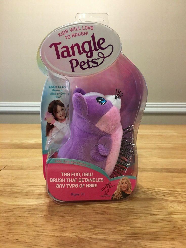 Tangle Pets Hair Brush Kids As Seen On Tv Shark Tank Cupcake The Cat Sealed Hair Tangles Ideas Of Hair Tangles Hair Tangles In 2020 Tangled Pet Hair Hair Brush