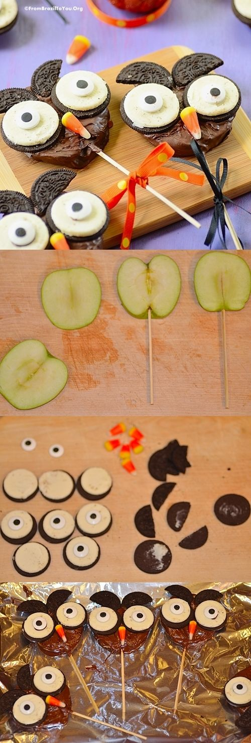 Super CUTE... An easy, quick, and FUN project for both adults and children! I need these !!