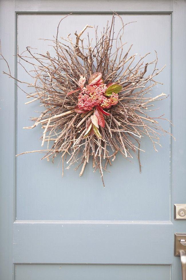 Diy Door Wreath Entryway Ideas Pinterest