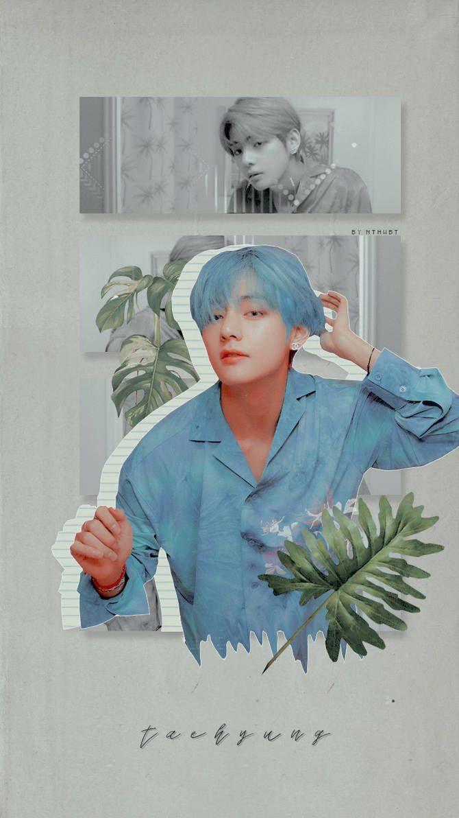 Bts V Lockscreen Map Of The Soul Persona By Nthwbt Kim Taehyung Wallpaper Bts Wallpaper Bts Drawings Bts taehyung aesthetic wallpaper
