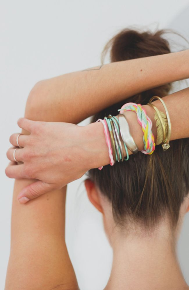 Be festival ready with this DIY Friendship Bracelet