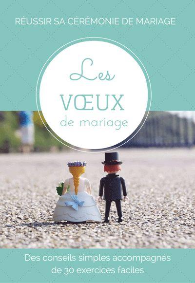 Le premier livre avec des conseils et des exercices simples pour écrire ses voeux de #mariage http://www.une-belle-ceremonie.fr