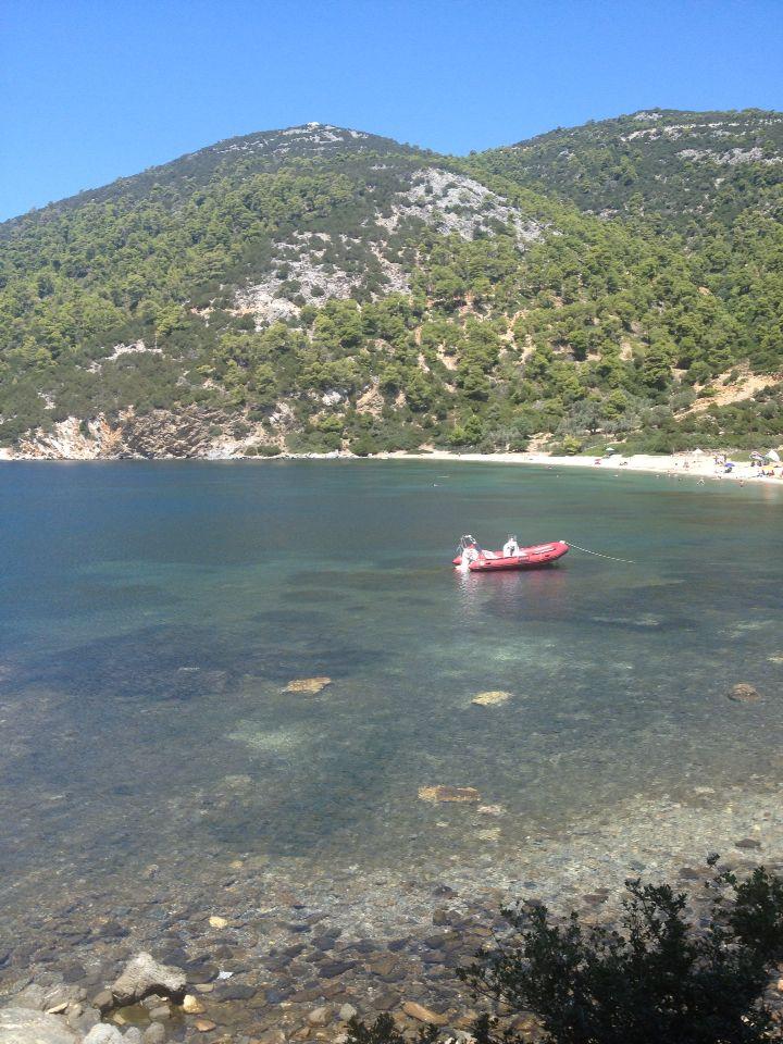 Peukos Beach, Skyros, Greece