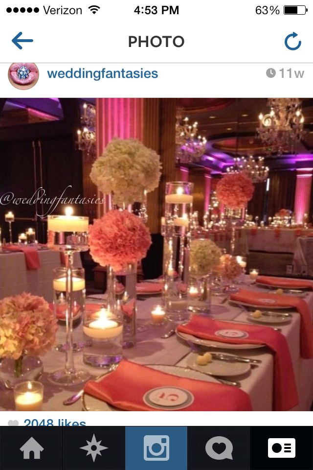 Best 25 Coral wedding receptions ideas on Pinterest Coral