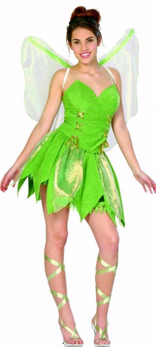 Adult Tinkerbell costume  http://barnaclebill.hubpages.com/hub/tinkerbellhalloweencostumeideas