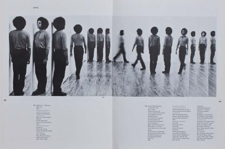 Klaus Rinke: Time, Space, Body, Transformations