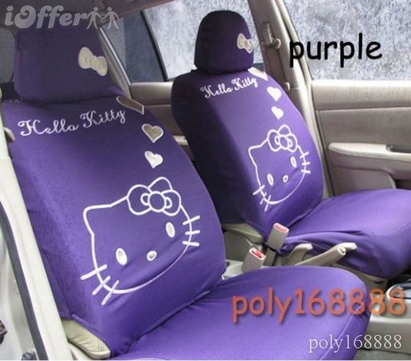 purple seat covers | Uploaded to Pinterest