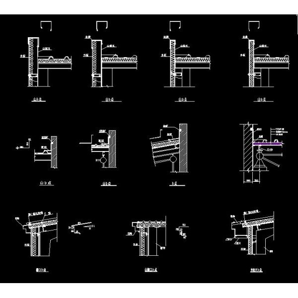 Steel Structure Details - CAD Drawings Download http://www.boss888.net/autocadshop4/en/48-steel-structure-details.html