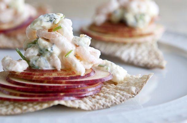 Shrimp salad with blue cheese   Seasons.nl