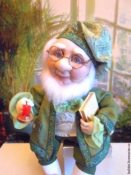 Коллекционные куклы ручной работы. Ярмарка Мастеров - ручная работа Ловец   СНОВ - текстильная кукла. Handmade.