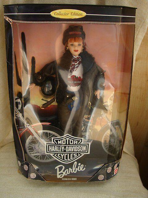 Коллекционная кукла Barbie - байкерша Harley Davidson, раритет, США - Другое во Владивостоке