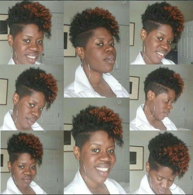 big chop hairstyles