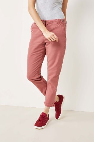 J2017 Buy Pink Washed Chino Trousers from Next Poland