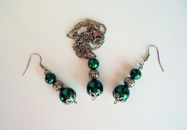 zeleni set mindjuse ogrlica, nagradna igra, giveaway