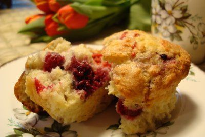 Fruit Explosion Muffins Recipe via @SparkPeople