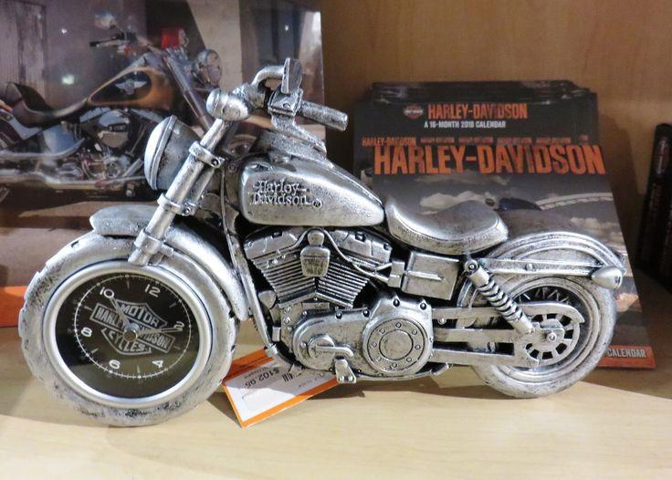 Harley-Davidson motorcycle clock
