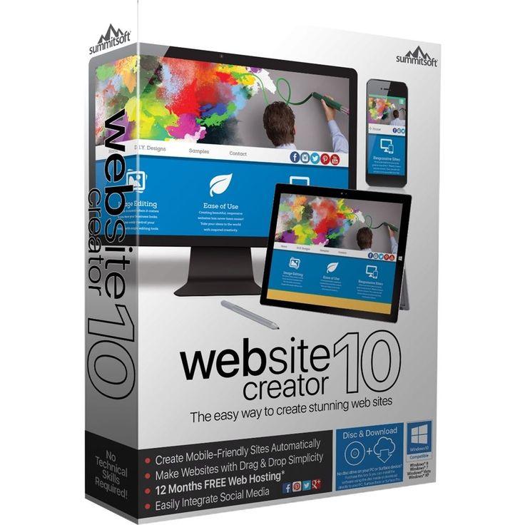 Website Creator 10 - Windows