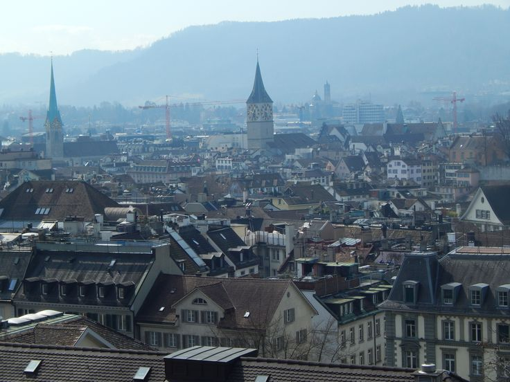 #Zurich_city #panoramic_view