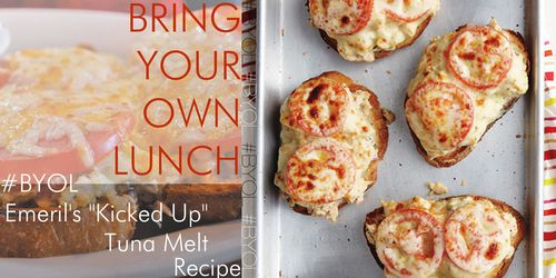 """Bring-Your-Own-Lunch Recipe: Emeril's """"Kicked Up"""" #Tuna Melts #..."""