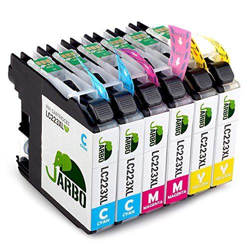 JARBO Compatibles Brother LC223 Cartouche d'encre Grande capacité Compatible avec Brother DCP-J4120DW DCP-J562DW MFC-J480DW J680DW J880DW J4420DW J4620DW J4625DW J5320DW J5620DW J5625DW J5720DW (2 Cyan,2 Magenta,2 Jaune) #JARBO #Compatibles #Brother #Cartouche #d'encre #Grande #capacité #Compatible #avec #Cyan, #Magenta, #Jaune)
