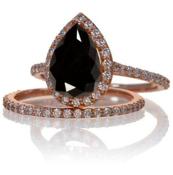 Spectacular - Black Diamond Wedding Rings Meaning #twitter