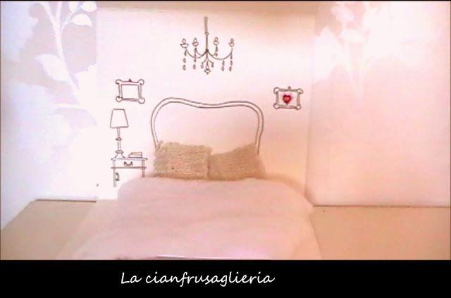 Casetta magica di cartone/ Magic dolls'house http://lacianfrusaglieria.blogspot.it/2012/12/evviva-la-magia-della-piuma.html