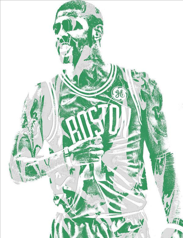 Kyrie Irving Boston Celtics Pixel Art 7 Art Print by Joe Hamilton. All prints are professionally printed, packaged, and shipped within 3 - 4 business days. Choose from multiple sizes and hundreds of frame and mat options.
