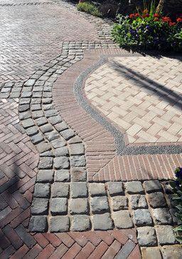 03_Salvaged Antique Cobblestone Sandstone 5x5.jpg - traditional - exterior - phoenix - Monarch Stone International