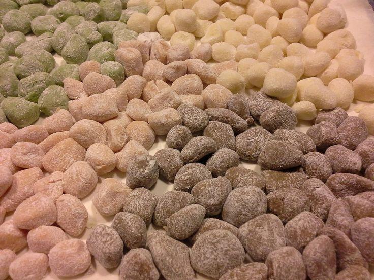 Salviaeramerino blog: Gnocchi arcobaleno, the recipe