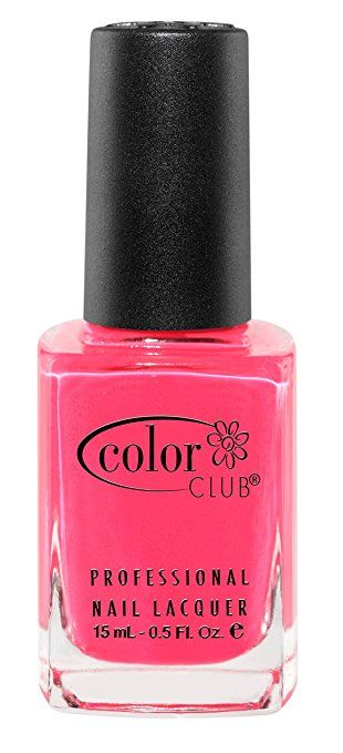 Color Club Poptastic Neons Nail Polish, Hot Pink, Jackie Oh, .05 Ounce Inspired by the graphic art from the 1960s, the Poptastic collection includes all the psychedelic shades you can ask for No formaldehyde, toluene and DBP chemicals Vegan, never tested on animals and are all around cruelty free
