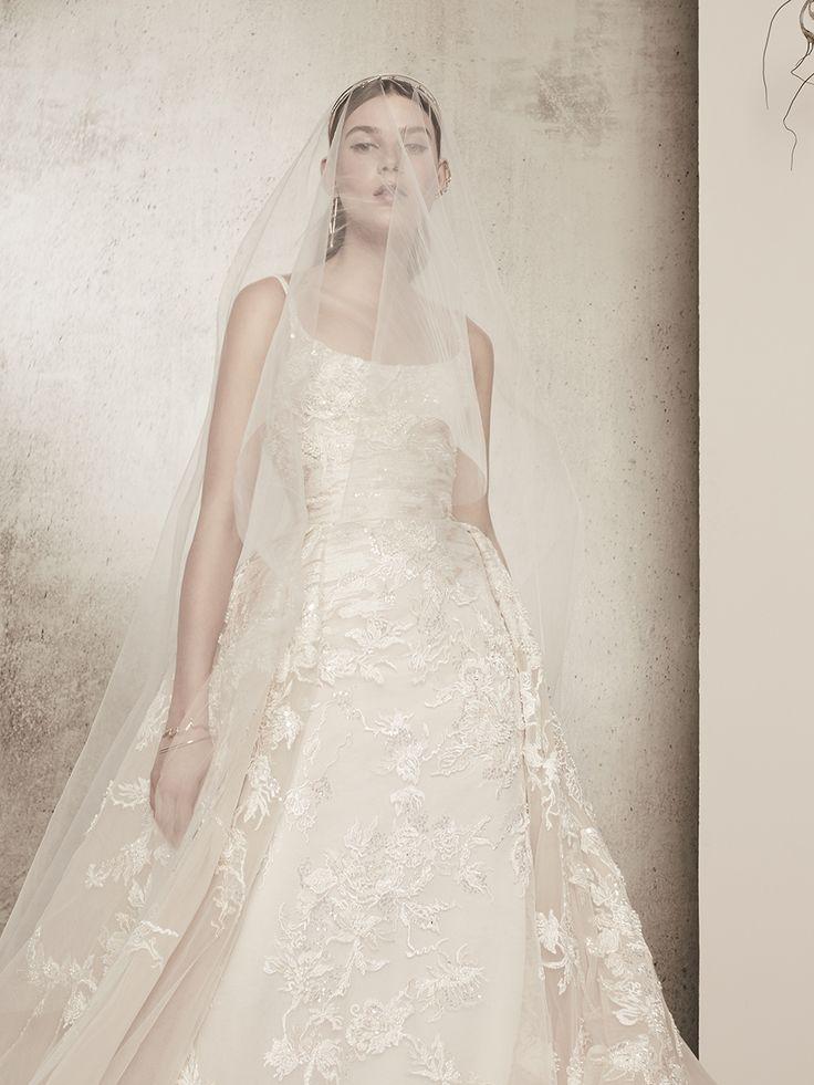126 best elie saab ready to wear bridal images on pinterest for Elie saab blush wedding dress