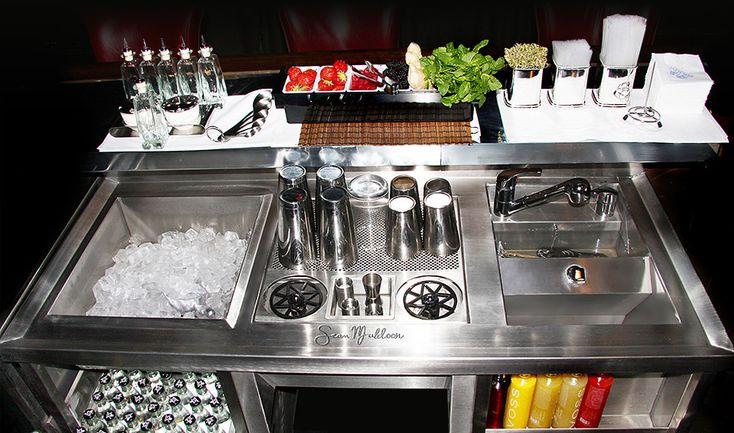Stainless Steel Bar Restaurants Kitchens Pinterest