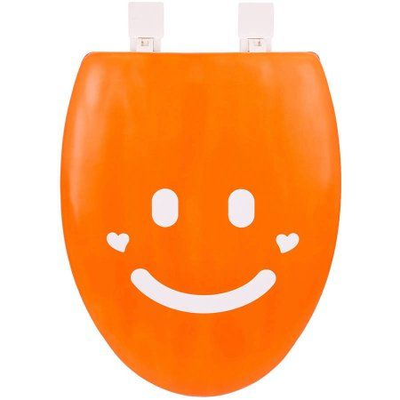 Happy Seat Smile Soft Padded Elongated Toilet Seat With