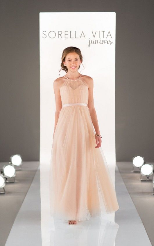 tulle bridesmaid dress wedding
