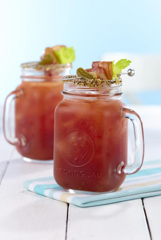Best Bloody Mary Mix Recipe. This is the best bloody mary mix you've ever tasted.