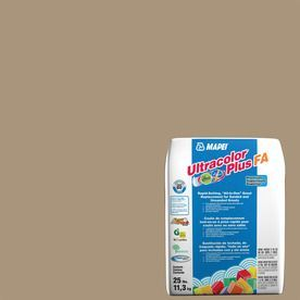 Mapei Ultracolor Plus Fa 25-Lb Chamois Sanded/Unsanded Powder Grout 6B
