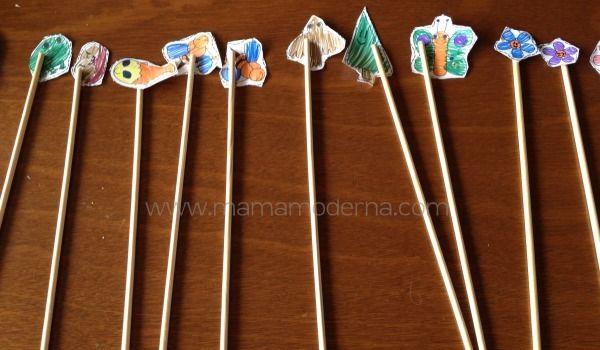 Animales y personajes de papel. Ideales para que los niños dejen volar su imaginación y preparen cuentos y jueguen con ellos.