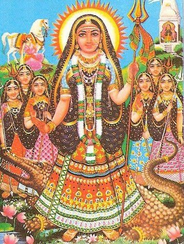 """Akhilandeshwari is known mostly as """"the Goddess who is never not broken."""" Akhilanda derives her power from being broken: in flux, pulling herself apart, living in different, constant selves at the same time, from never becoming a whole that has limitations."""