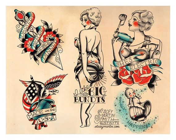 Hey, I found this really awesome Etsy listing at https://www.etsy.com/listing/160774470/vintage-foodie-baking-flapper-tattoo